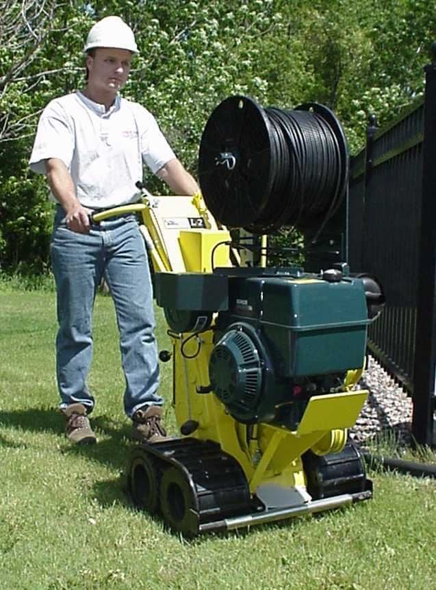 L2 Line Layer Equipment Underground Cable Pulling Amp Laying