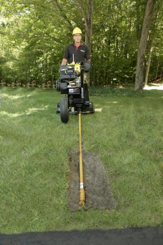 L2 line Layer Machine in garden